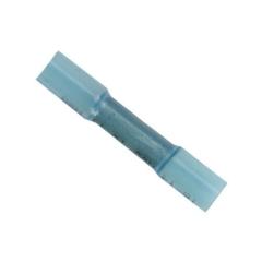 16-14 AWG Nylon Single Crimp Butt Connectors 100-Pack