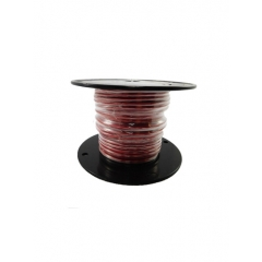 10 AWG Red Primary Marine Wire 100 Foot Roll   Cobra A2010T-01-100