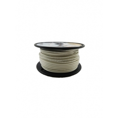 14 AWG White Primary Marine Wire 100 Foot Roll   Cobra A1014T-05-100