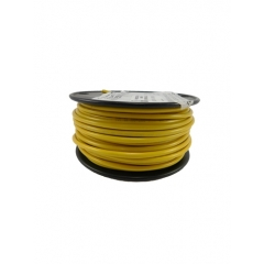12 AWG Yellow Primary Marine Wire 100 Foot Roll   Cobra A1012T-04-100