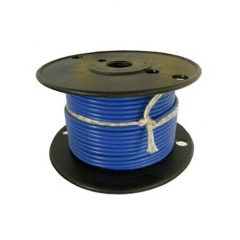 16 AWG Light Blue Primary Marine Wire 100 Foot Roll   Cobra A1016T-10-100