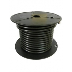 2 AWG Black Marine Battery Cable 100 Foot Roll | Cobra A2002T-07-100