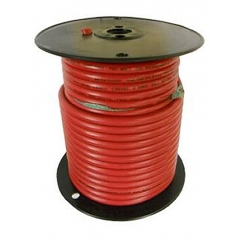 6 AWG Red Marine Battery Cable 100 Foot Roll | Cobra A2006T-01-100
