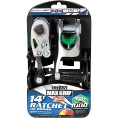 Highland 1158400 Titan Max Grip Ratchet Tie Down