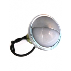 License Light snap-in, chrome plated