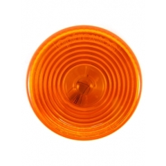 """Amber 2"""" Round Sealed Clearance/Marker Light"""