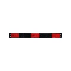 """Waterproof Identification Light Bar 3 sealed marker lights, 50"""" lead wire"""