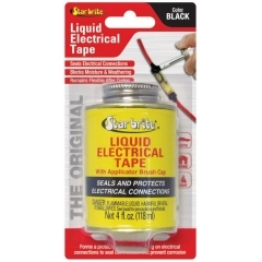 Star Brite 084104B Black Liquid Electrical Tape - 4 oz.