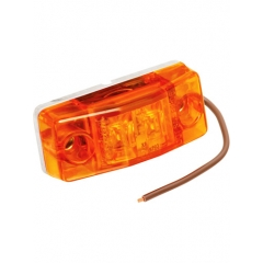 Amber Waterproof LED Side Marker Light